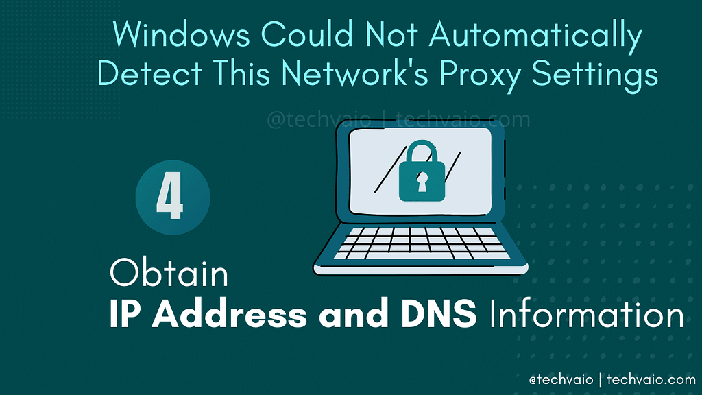 Obtain IP Address and DNS Information