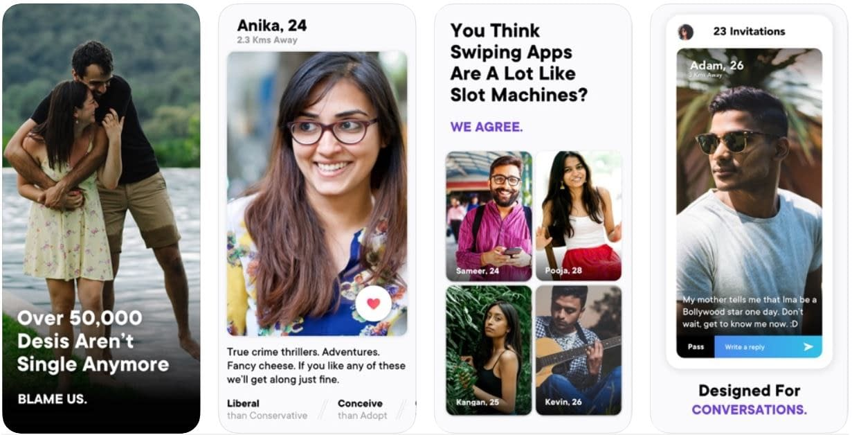 Aisle Dating apps
