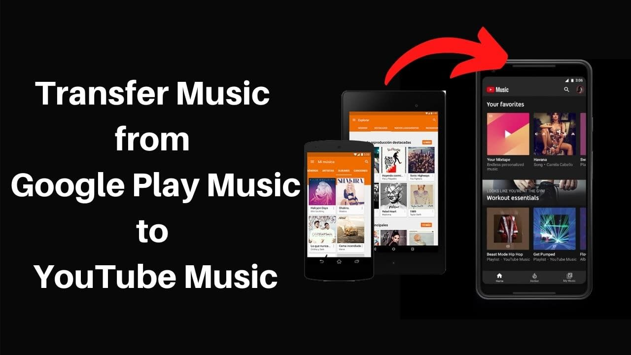 Transfer Music from Google Play Music to YouTube Music