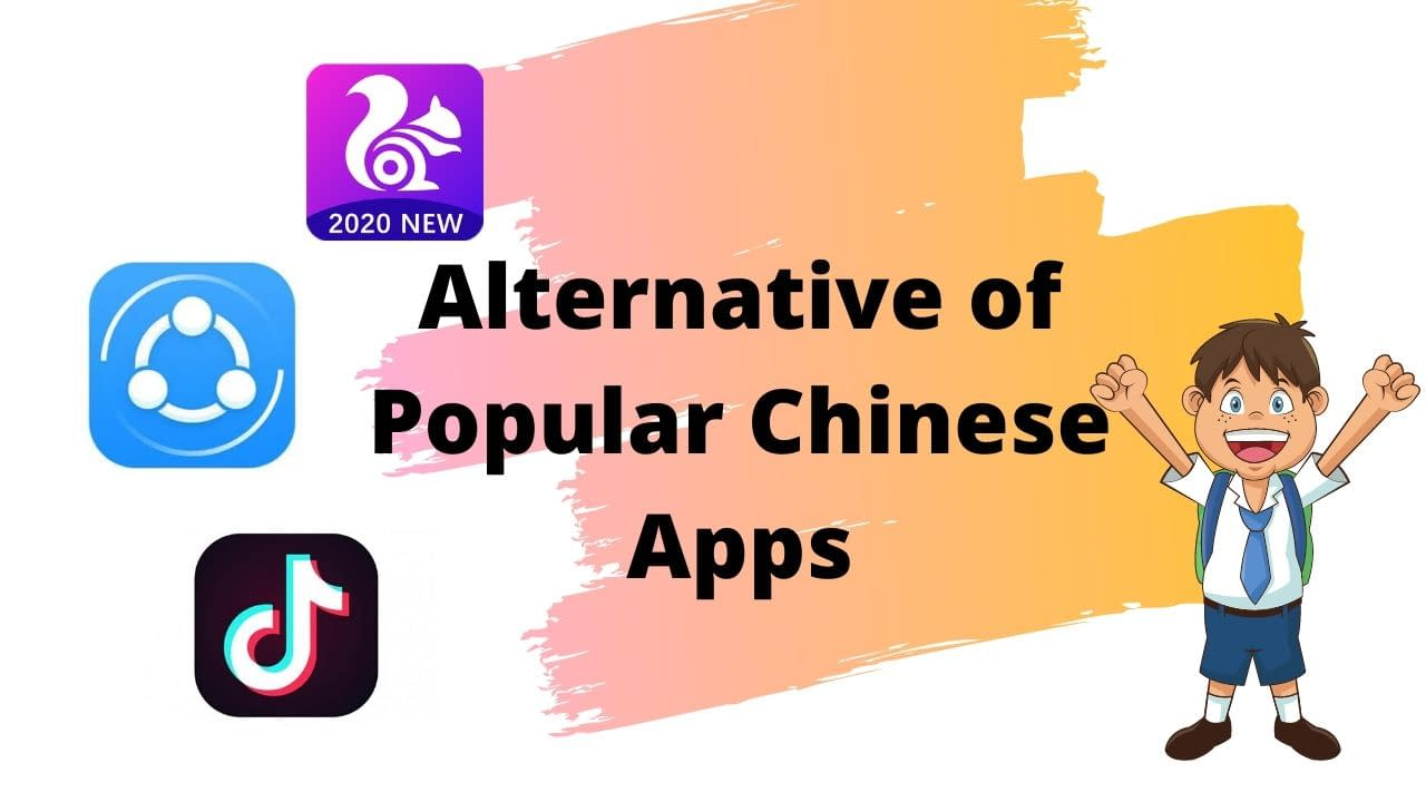 Alternative of Popular Chinese Apps (1)