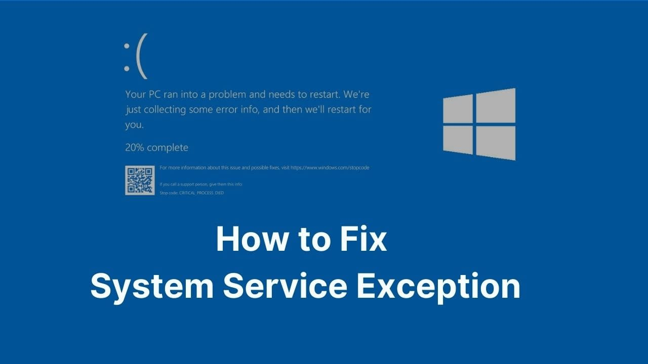 How to Fix System Service