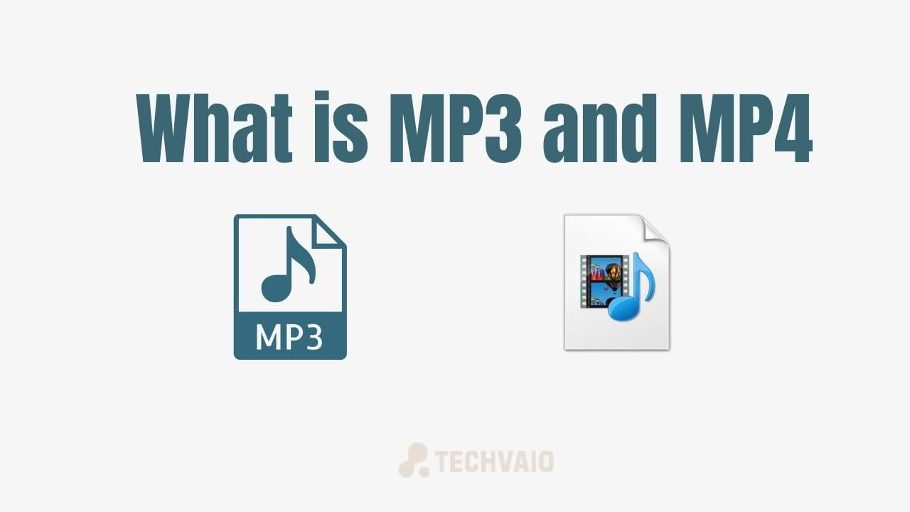 What is MP3 and MP4