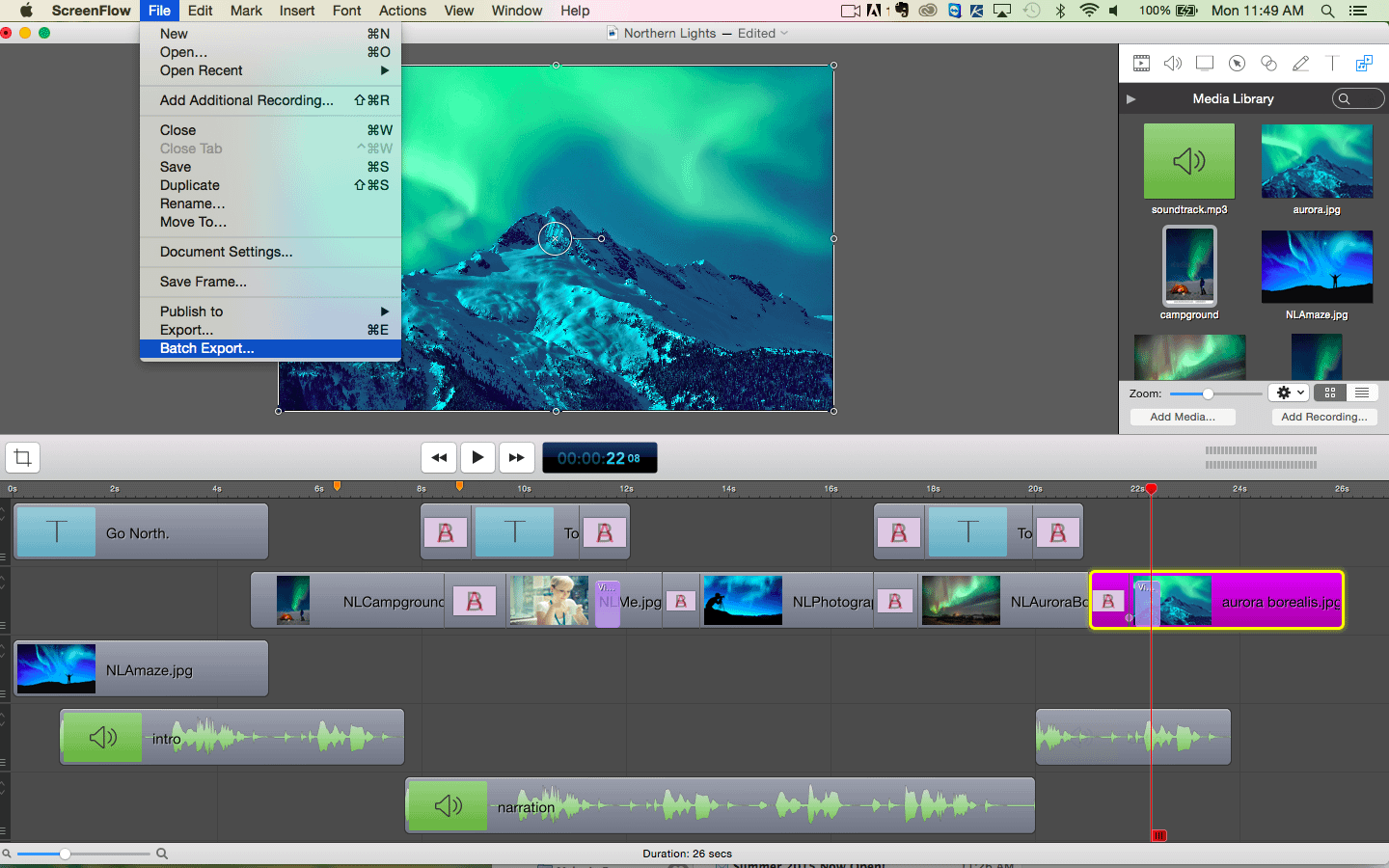 ScreenFlow recording software