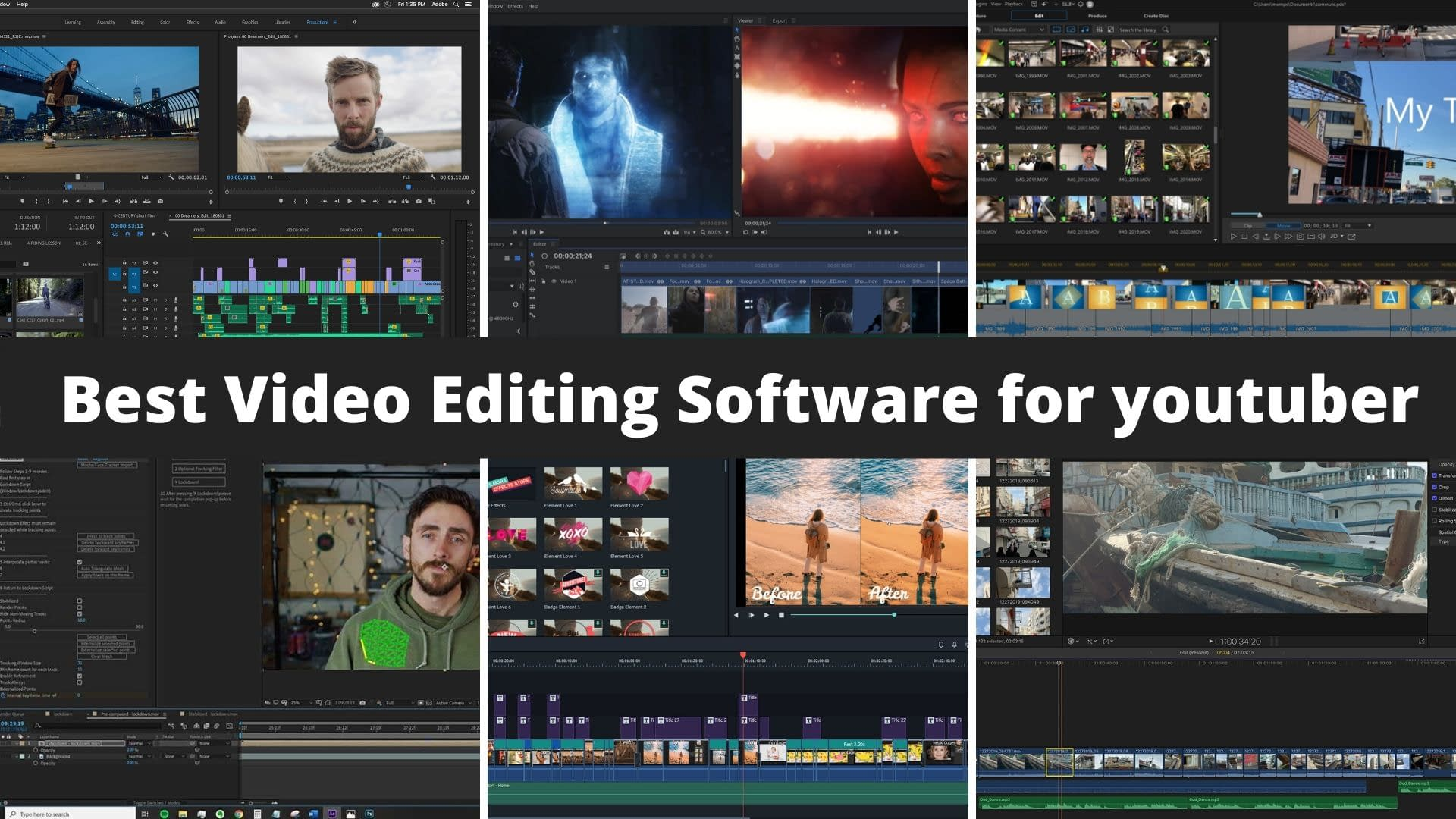 Best Video Editing Software for youtuber