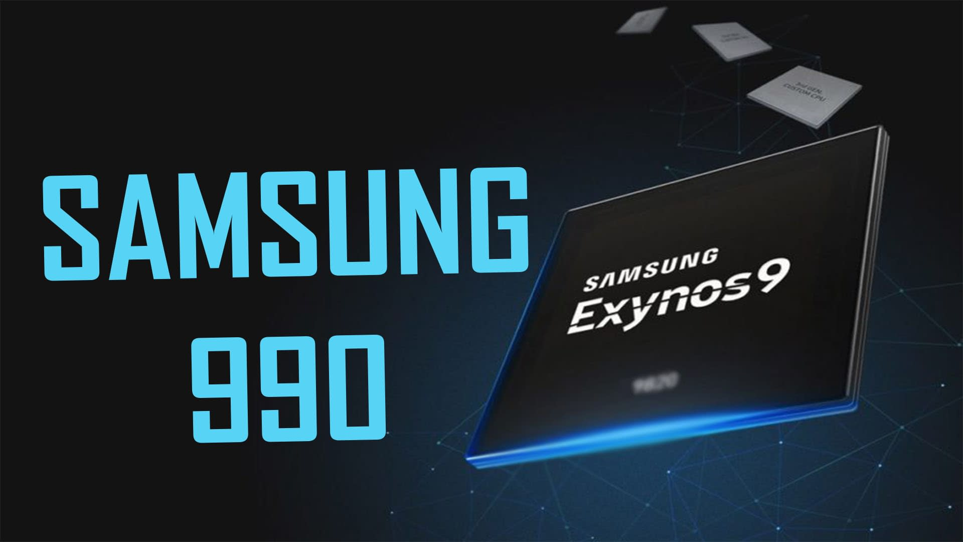 Exynos 990 Processor gaming specification