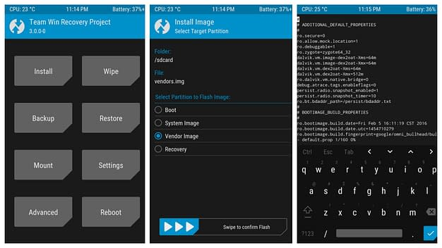 twrp recovery for android