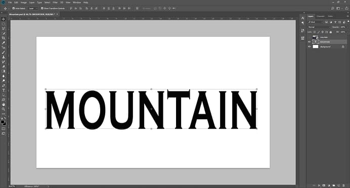 create text layer