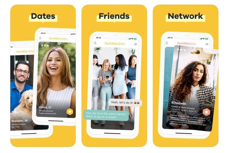 Bumble Dating apps